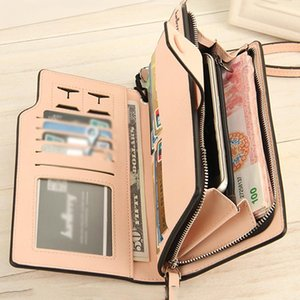 Wholesale New Style Women Long Wallet PU Leather Card Holder Organizer Billfold Ladies Purse Clutch Money Bag