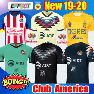 Wholesale New Arrived 2019 20 Club America Soccer Jerseys 2020 Xolos de Tijuana Home Away UNAM Guadalajara Chivas kit Jersey 19 20 Football Shirts