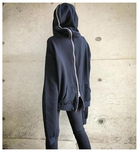 Wholesale Designer Back Zipper Womens Hoodies Novelty Dark Series Witch Hat Hoodies Fashion Casual Donna Loose Tops