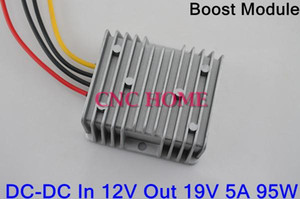 Wholesale case converter resale online - Freeshipping DC DC Boost Module V to V A W Car Boost Power Converter Waterproof Step Up Module Aluminum Case Converter