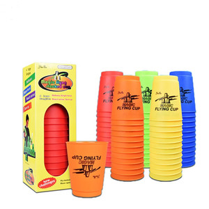 Wholesale 12Pcs Set Speed Cups With Puzzle Game Hand Speed Training Game Kids Gift Funny Indoor Game Hand Lever Sports Special Stacks Toys