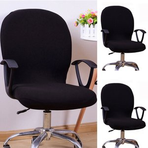 Office Computer Chair Cover Internet Bar Stretch Swivel Rotate Seat Washable Lot Chair Cover Home Textile on Sale
