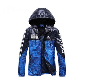 Mens Designer Jacket With Grass Printed AD Luxury Jackets Hooded Long Sleeve Brand Mens Windbreaker Clothing S-XXL