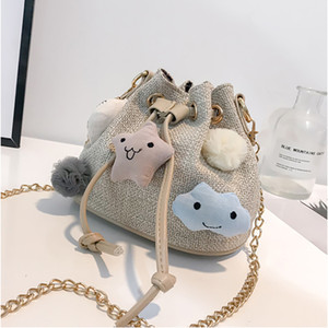 Wholesale Women Wild Fairy Bucket Bag Small Fresh Air Single Shoulder Bag Korean style Cute Messenger For Student LL