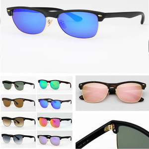 Wholesale 12 Colors Nylon Frame Sunglasses Rivet Glasses Decorative Beach Sunshade Products Unisex Anti UV Glasses Outdoor Eyewear CCA11462