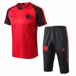 6cbee28f41d9 Wholesale 5 PSC Free DHL 2019 Barcelona Short sleeve tracksuits 2020  Juventus short sleeves jersey Messi FC Tshirt training suit PSG shirt