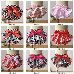 Wholesale Baby shorts Newborn Beautiful lace bloomers ruffle PP pants infant floral bread PP pant toddler girls shorts underwear bow diaper cover
