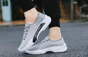 2019 new Fashion korean leisure men shoes spring men footwear autumn net cloth men flat shoes breathable casual men's flats