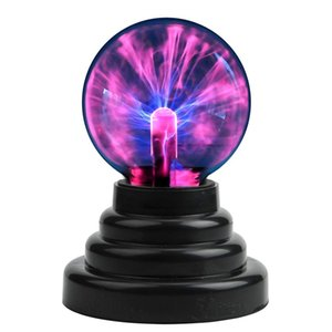 Plasma Ball Magic Moon lamp USB Electrostatic Sphere Light Bulb Touch Novelty Project Home Decoration Accessories Halloween Christmas Gift