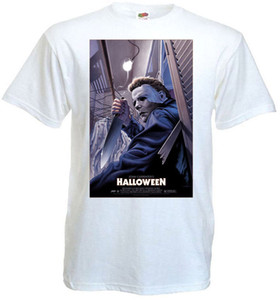 Wholesale Halloween v T shirt white movie poster all sizes S XL Funny Unisex Casual