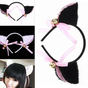 Lovely Night Party Club Bar Decorate Headbands Plush Cat Fox Fur Ear Hairband Girls Anime Cosplay Costume Cat Ear Hairwear
