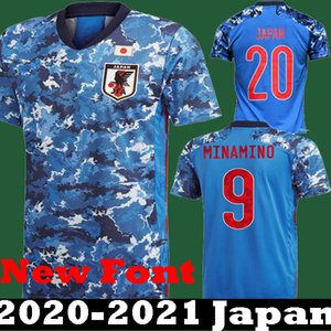 Wholesale New Fonts Japan men soccer jersey national team ATOM KAGAWA ENDO OKAZAKI NAGATOMO HASEBE KAMAMOTO kids football Shirt