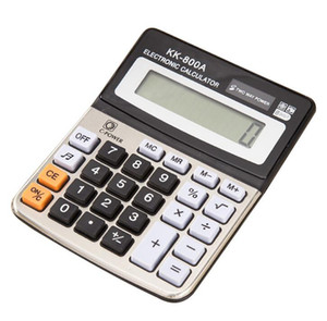Wholesale 800A office supplies computer desktop with ring calculator electronic calculator business accounting calculator Opening Ceremony Employee Be