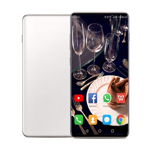 Goophone WS10 PLUS 10+ NOTE 9 Face id quad core 1GBRAM 4GBROM Full Screen 6.5inch Cellphone Show 4G LTE android Unlocked Phone