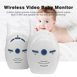 Wholesale LESHP Portable GHz Wireless Digital Audio Baby Monitor V20 Sensitive Transmission Two Way Talk Crystal Clear Cry Voice Alarm