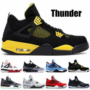 Wholesale Thunder s Men Basketball Shoes White Cement Fire Red Green Glow Fear Pack Trainers Designer Shoes Sport Sneakers US