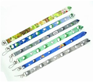 Wholesale 6 Style Anime My Neighbor TOTORO Mix Pattern Lanyards Cell Phone PDA Key ID Strap Charms Free DHL