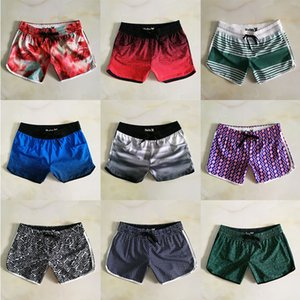 Wholesale Women Beach Shorts Colors Printed Waterproof Quick Dry Surfing Shorts Summer Elastic Soft Swimwear Designer Brand Ladies Shorts