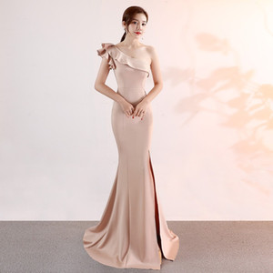 Wholesale Evening Gown Long Drops Summer Dresses Woman Party Night for Girls Party Festa Young Elegant Ball Gown Formal Mermaid