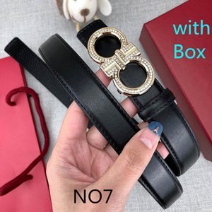 Fashion Diamond Designer Belts Luxury Belt for Womens Man Belts Casual Brand Letters Smooth Buckle Belt Width 2.4cm Highly Quality with Box