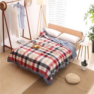 Wholesale Colorful flowers Print Quilting Summer Quilt Twin Queen Size Throws Blanket Cotton Bedding Plaid Bedspread