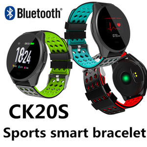 Wholesale Fitness Tracker CK20S Smart Bracelet Touch Screen Heart Rate Blood Pressure Family sharing real time data Sport band for iOS Apple Android