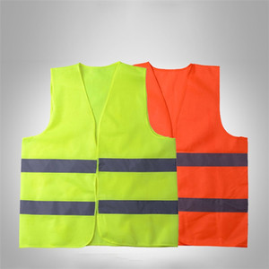 Wholesale safe vest resale online - Reflective Vest Traffic Warehouse Safety Security Reflective Safety Vest safe Working Clothes Night light net safety suit T9I00227