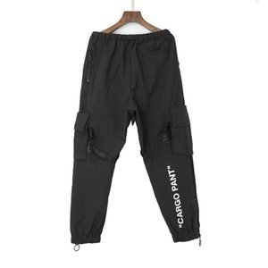 Wholesale FALECTION MENS 19SS OFF OW CARGO PANTS TRACK SWEATPANTS FASHOIN