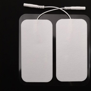 Wholesale Electrode Pads TENS Unit inch Rectangular Electrode for TENS Massage EMS Massager Device with Long Lasting Reliable Gel