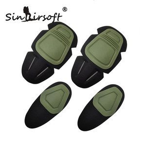 Wholesale SINAIRSOFT Paintball Airsoft Combat G3 Protective Uniform Pants Tactical Knee and Elbow Protector KNEE ELBOW Pad