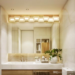 Wholesale Nordic led mirror Ceiling light mm Hardware acrylic bathroom lamp bedroom cosmestic lighting hotel foyer led bathroom sconce
