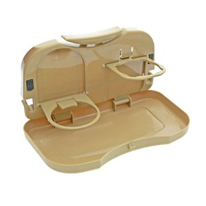 Wholesale ZHIYUAN Car Food Snack Tray Folding Back Seat Drink Food Holder Small Table