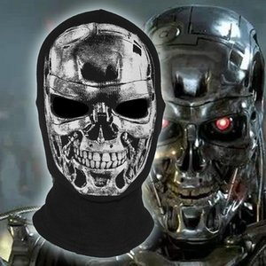 New The Terminator Masks Balaclava Halloween Cosplay Bicycle Costume Skull Ghost Game Scare Full Face Mask T800