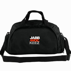 Jabbawockeez duffel bag White mask glove player tote Hip hop dance band backpack 2 way use luggage Trip shoulder duffle Sport sling pack