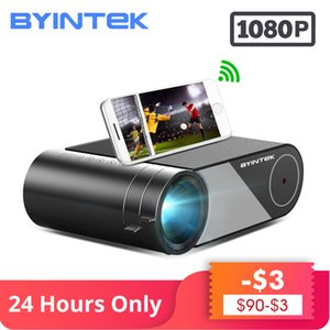 Wholesale BYINTEK SKY K9 P P LED Portable Home Theater HD Mini Projector Option Multi Screen For Iphone Ipad Smart Phone Tablet