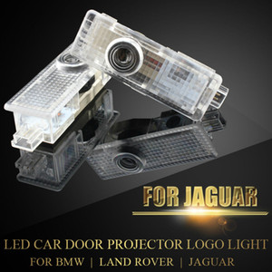 Wholesale LED Door Courtesy Light with Car Logo For Jaguar F Type BMW MINI Land Rover Wireless Projector Laser Ghost Shadow Lamp Plug Play