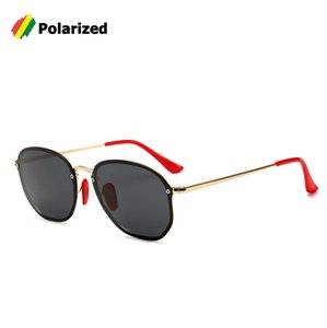 Wholesale Fashion Popular BLAZE Round Sunglasses Women Red Nose Pad Cool Brand Design UV400 Sun Glasses Oculos De Sol