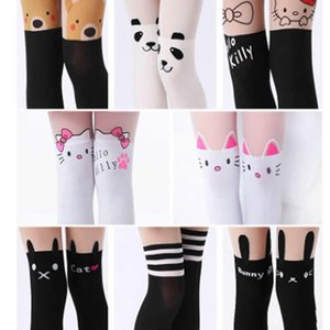 Spring Autumn Period Summer Children Tights Splicing Fake Their Tights Velvet Anti Tick Off The Thigh Render Pantyhose Stocking on Sale