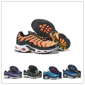 Wholesale Newest Mercurial Tn mens Running Shoes tn se Plus Chaussure homme tns Tripel Red Green Yellow black Sports Athletic Trainers Sneakers