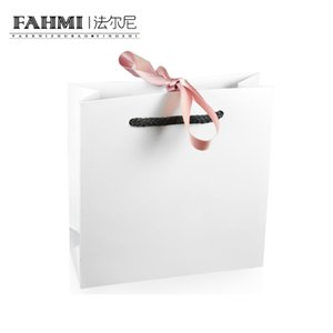 Wholesale FAHMI Original Charm Ring Bracelet Earrings Recklace Bow Handbag Storage Protection Bag Jewelry Atmosphere Fashion Women Gift