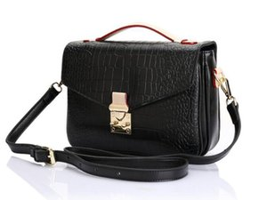Wholesale high quality genuine leather women s handbag pochette Metis shoulder bags crossbody bags messenger bag