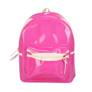 Wholesale Fluorescent Backpack Student Bag With Light Cool Korean Version Of The Backpacks Sports Bag Trend Fashion Men Women qxC1