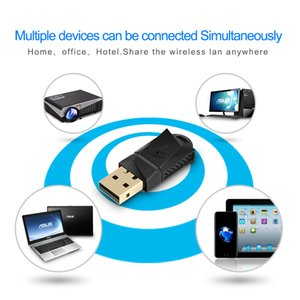 Wholesale Rocketek 600 Mbps Adaptor Wifi Dongle, Dual Band Wireless Usb Web Card Lan For Desktop Computer Table 802.11a g n ac