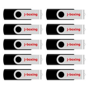 Black 10PCS 16GB OTG USB 2.0 Flash Drive Rotating Dual USB Thumb Drive Memory Stick Pen Storage for Computer Android Smartphone Tablet