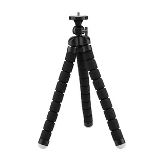 Small Size Tripod Bracket Portable Flexible Phone Holder Camera Mobile Phone Tripods Foldable Desktop Stand