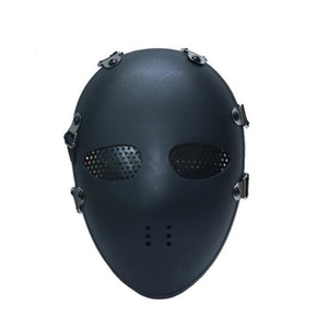 пейнтбольная маска армии airsoft оптовых-Multicam Tactical Airsoft Skull Mask Painterball Army Combat Full Face Paintball Masks CS Game Face Protective Tactical Mask