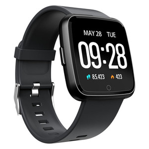 Wholesale 1 Inch Touch Screen Smart Watch IP67 Waterproof Sport Bracelet Motion Record Blood Pressure Heart Rate Monitor Smartwatch For IOS Andriod