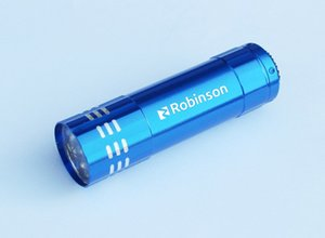 Wholesale Promotional LED Light Flashlights with Custom Laser Engraved Brand name or logos colours available