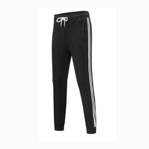 Wholesale Fashion Brand Men Women Casual Sports Long Pants Stripes Autumn New Arrival Men Sport Pants Women Trousers Color Available Size S XL
