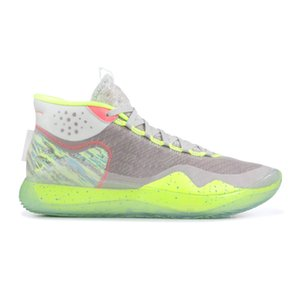 Wholesale kids shoe s for sale - Group buy KD12 S KID Green Basketball Shoes mens trainers New sneakers with Box from Michael Sports